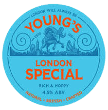 Youngs Special Ale - The Queens Head Pub Sheet Petersfield Hampshire - Pubs Near Petersfield - Takeaway Pizza - Pizzas - Cask Ales & Excellent Food